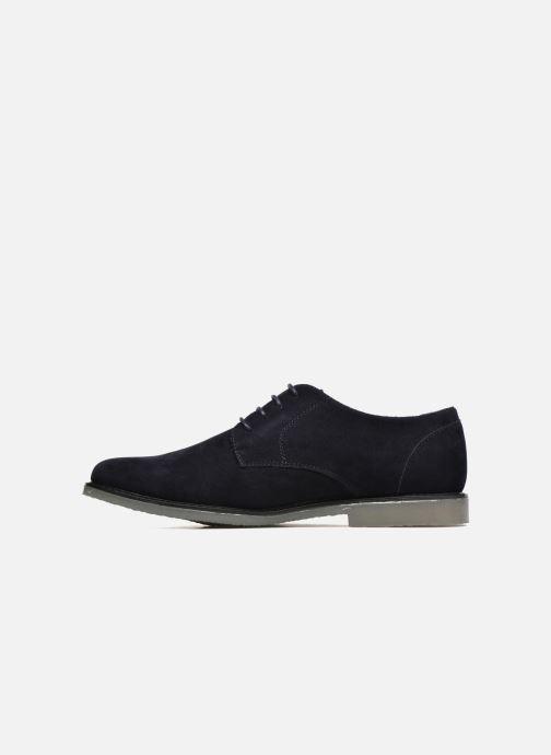 Lace-up shoes I Love Shoes SUPERBES Blue front view