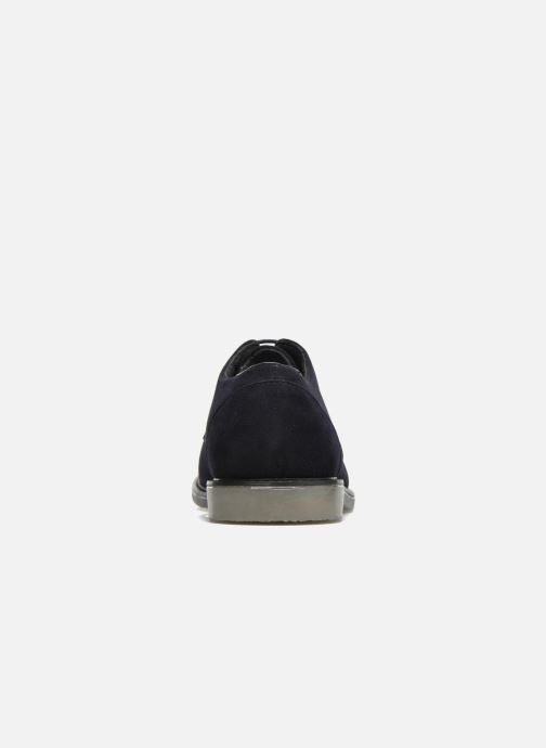 Scarpe con lacci I Love Shoes SUPERBES Azzurro immagine destra