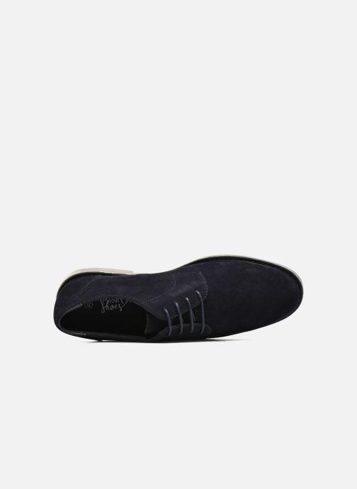 Scarpe con lacci I Love Shoes SUPERBES Azzurro immagine sinistra