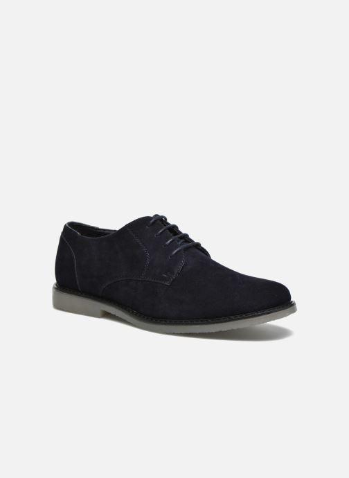 Snøresko I Love Shoes SUPERBES Blå detaljeret billede af skoene