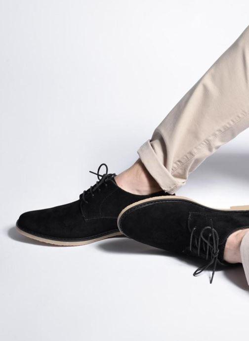 Chaussures à lacets I Love Shoes SUPERBES Noir vue bas / vue portée sac