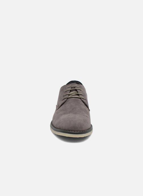 Chaussures à lacets I Love Shoes SUPERBES Gris vue portées chaussures