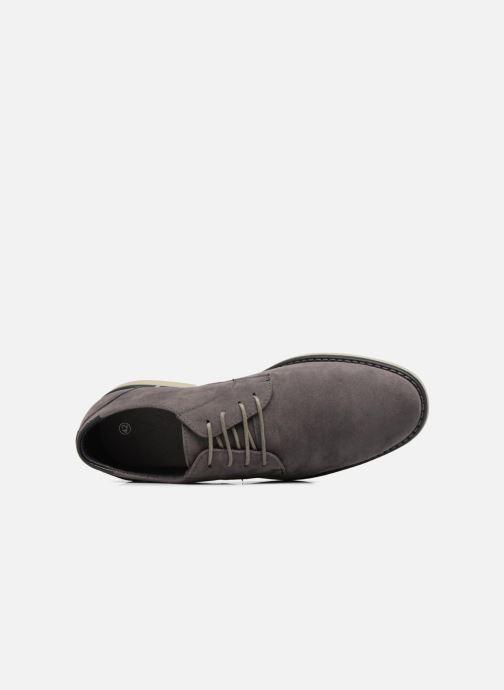 Schnürschuhe I Love Shoes SUPERBES grau ansicht von links