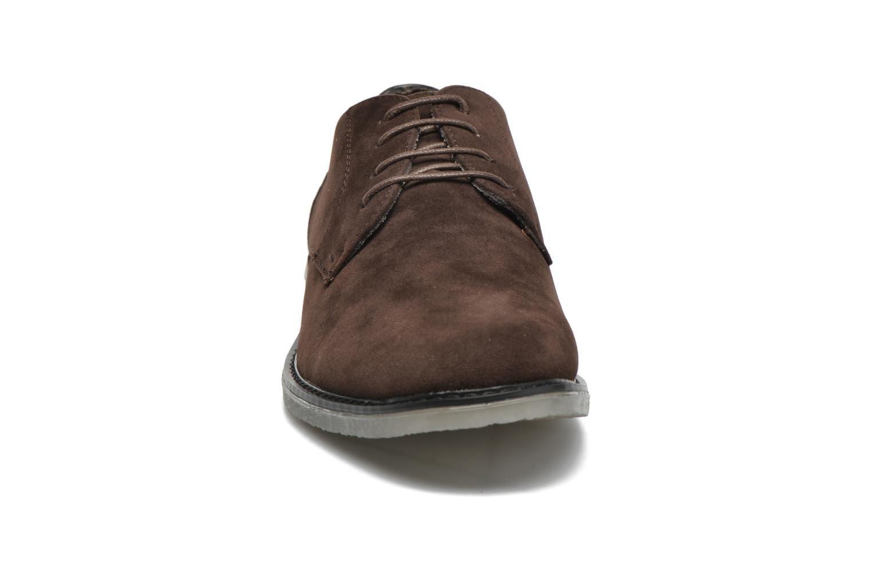 Schnürschuhe I Love Shoes SUPERBES braun schuhe getragen