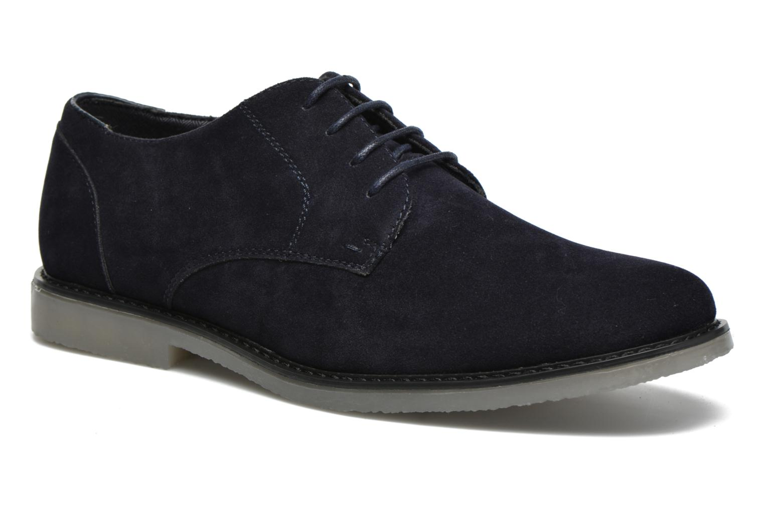 Lace-up shoes I Love Shoes SUPERBES Blue detailed view/ Pair view