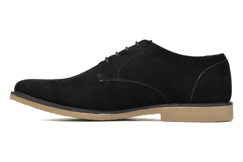 Lace-up shoes I Love Shoes SUPERBES Black front view