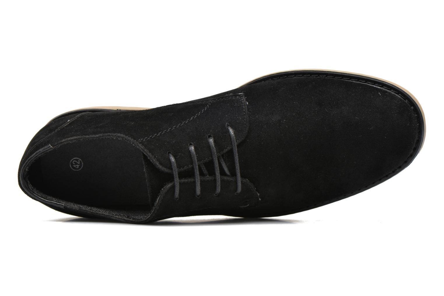 Lace-up shoes I Love Shoes SUPERBES Black view from the left