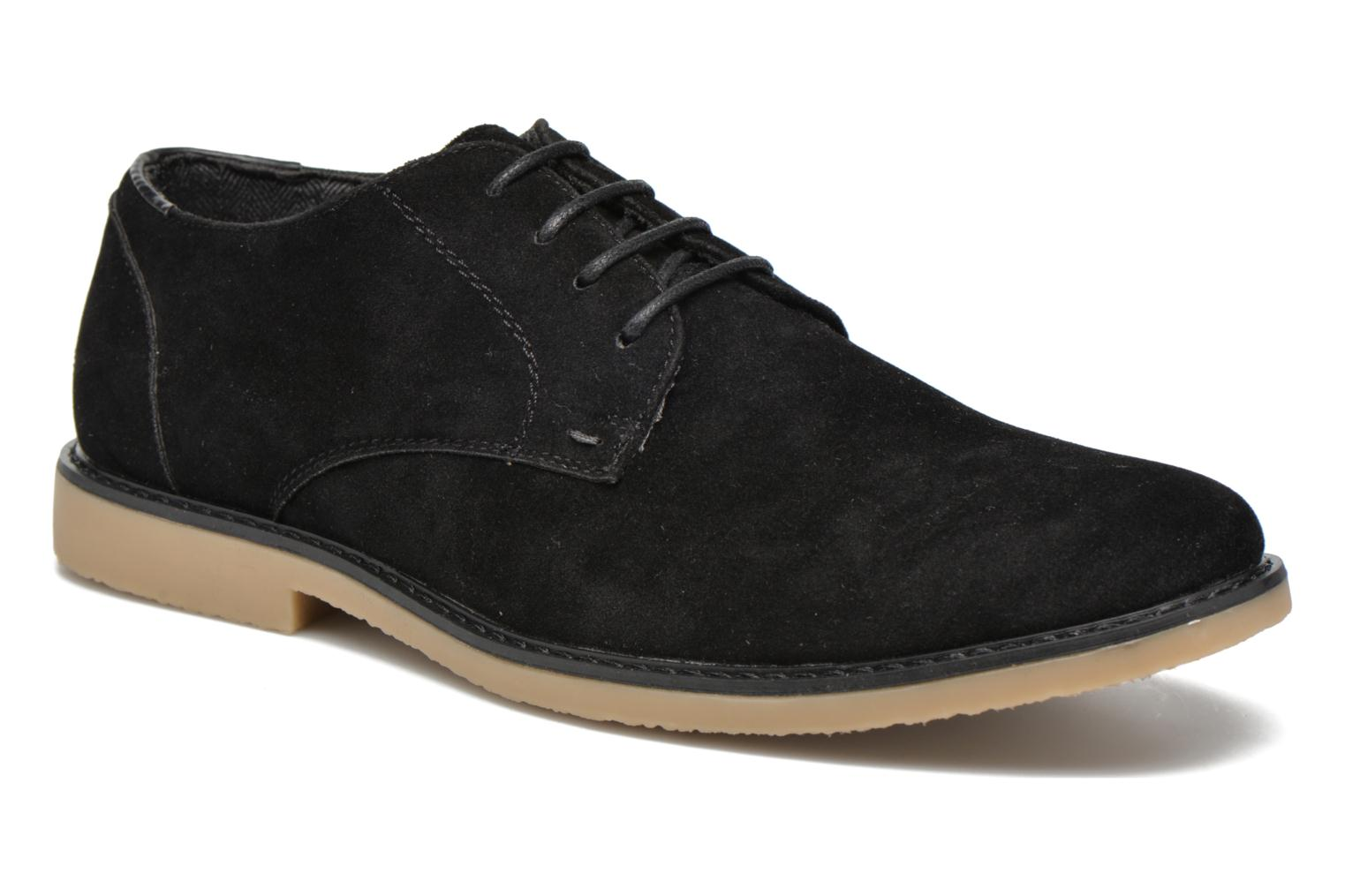 Lace-up shoes I Love Shoes SUPERBES Black detailed view/ Pair view
