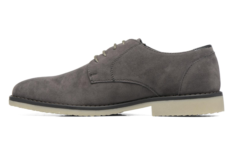 Scarpe con lacci I Love Shoes SUPERBES Grigio immagine frontale
