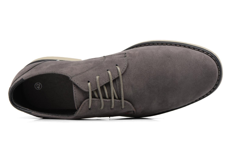Scarpe con lacci I Love Shoes SUPERBES Grigio immagine sinistra