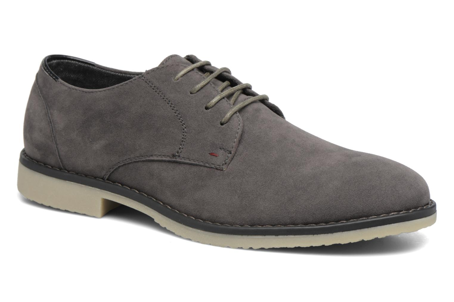 Lace-up shoes I Love Shoes SUPERBES Grey detailed view/ Pair view