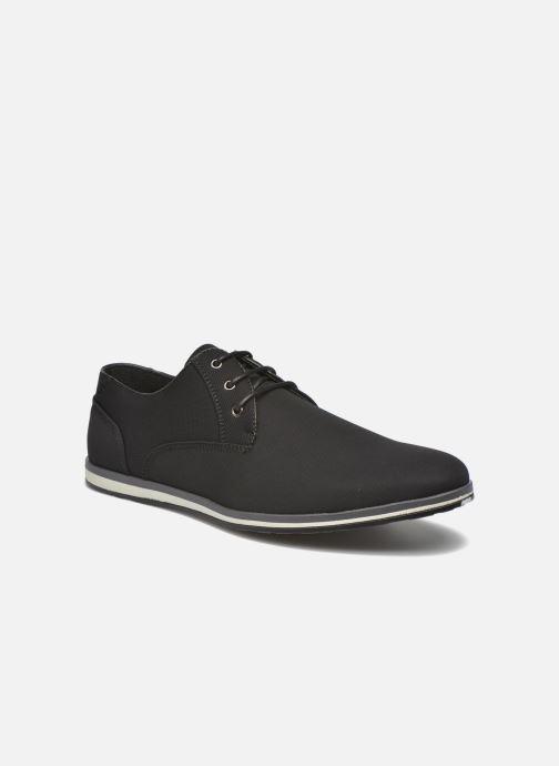 Snøresko I Love Shoes SUPERAS Sort detaljeret billede af skoene