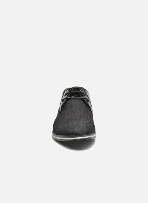 Scarpe con lacci I Love Shoes SUPERAS Nero modello indossato