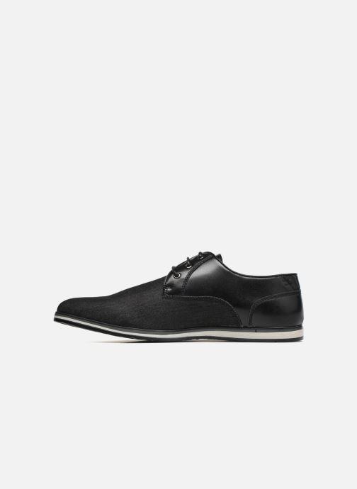 Scarpe con lacci I Love Shoes SUPERAS Nero immagine frontale