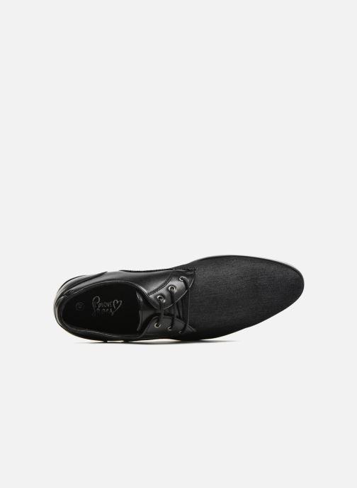 Scarpe con lacci I Love Shoes SUPERAS Nero immagine sinistra