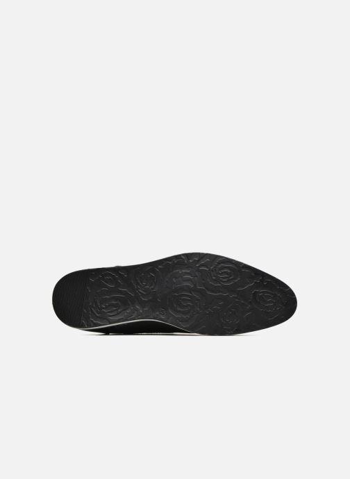 Scarpe con lacci I Love Shoes SUPERAS Nero immagine dall'alto