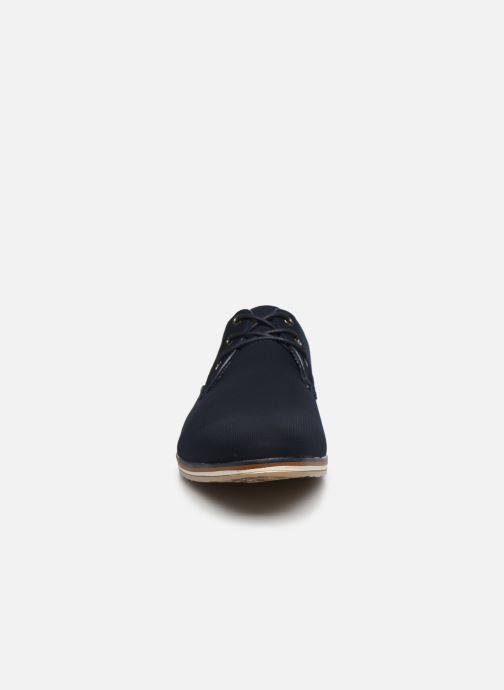 Schnürschuhe I Love Shoes SUPERAS blau schuhe getragen