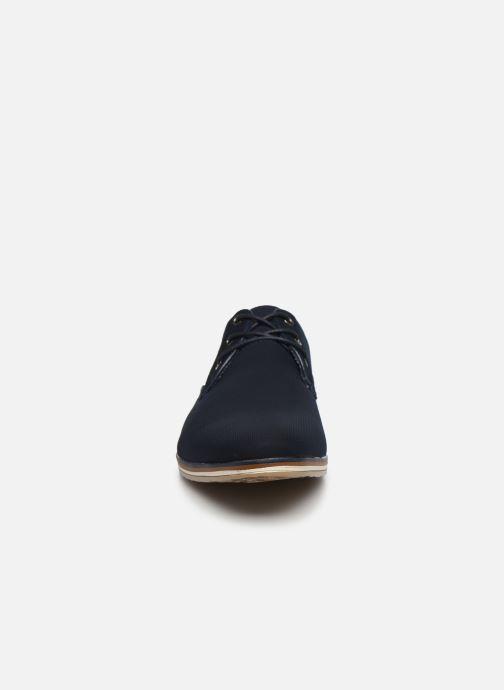 Chaussures à lacets I Love Shoes SUPERAS Bleu vue portées chaussures