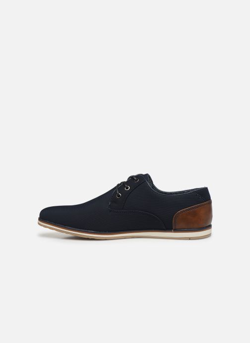 Schnürschuhe I Love Shoes SUPERAS blau ansicht von vorne