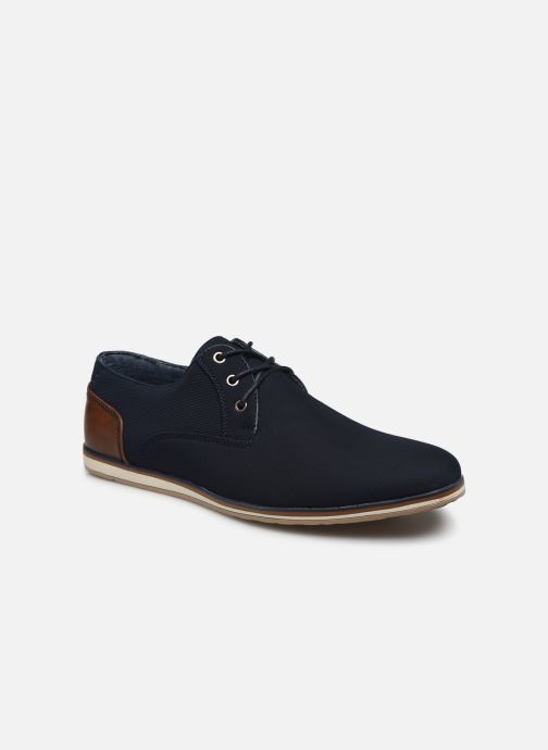 Lace-up shoes I Love Shoes SUPERAS Blue detailed view/ Pair view