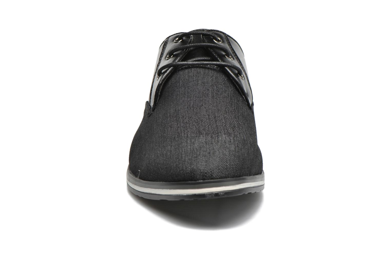 Chaussures à lacets I Love Shoes SUPERAS Noir vue portées chaussures