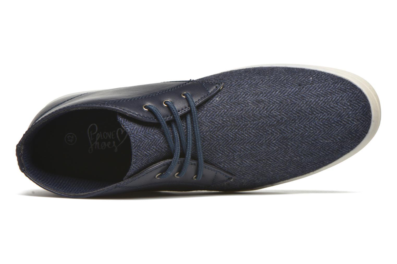 Baskets I Love Shoes SUPEVRON Bleu vue gauche