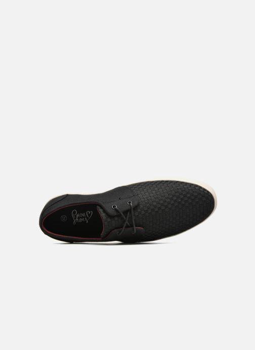 Baskets I Love Shoes SUPERIONS Noir vue gauche