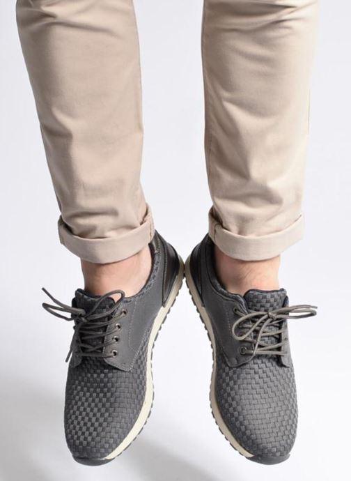 Baskets I Love Shoes SUPELIRE Gris vue bas / vue portée sac