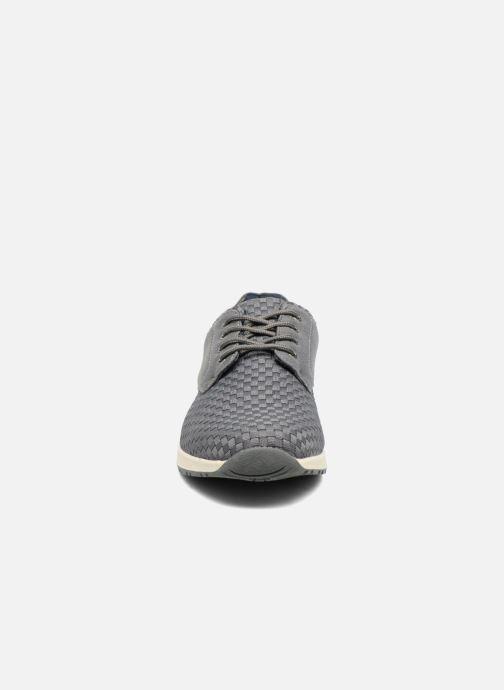 Baskets I Love Shoes SUPELIRE Gris vue portées chaussures