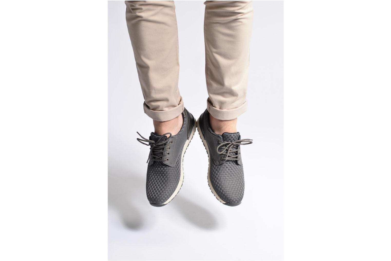 Baskets I Love Shoes SUPELIRE Noir vue bas / vue portée sac