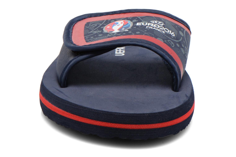 Sandales et nu-pieds EURO 16 Marcel Kid Bleu vue portées chaussures