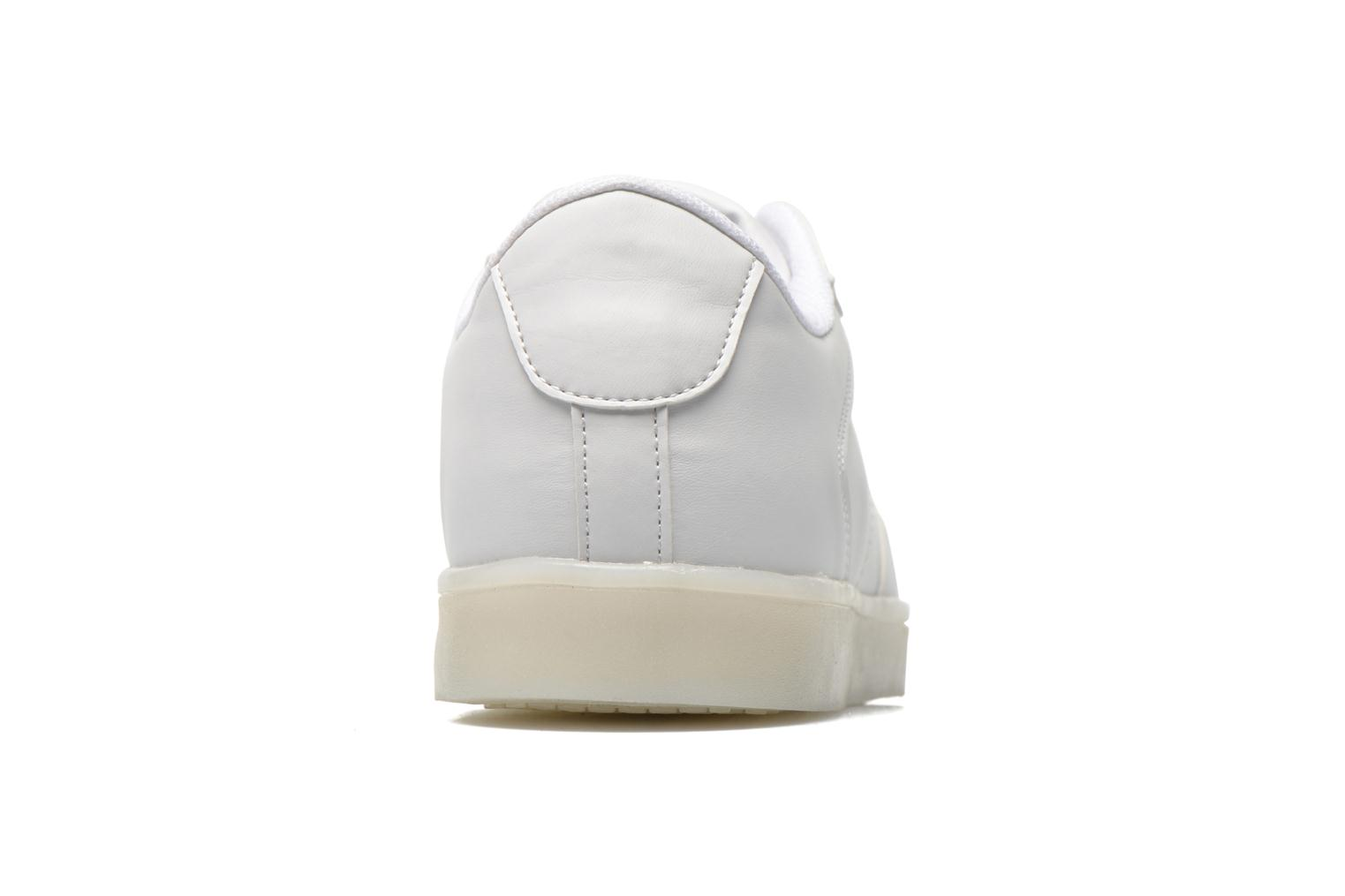 Deportivas Cash Money CMS 37 Blanco vista lateral derecha