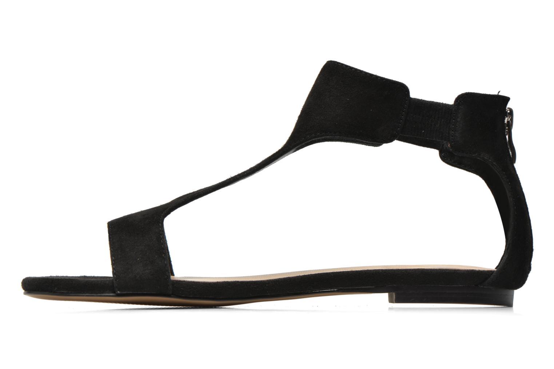 Sandales et nu-pieds Jonak Summer Noir vue face