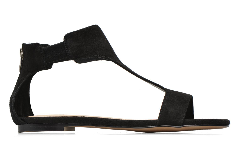 Sandales et nu-pieds Jonak Summer Noir vue derrière
