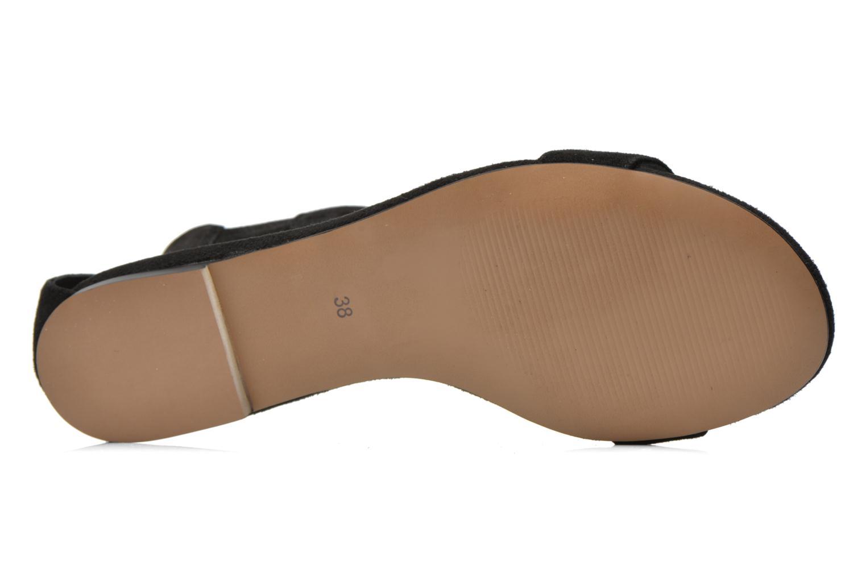 Sandales et nu-pieds Jonak Summer Noir vue haut