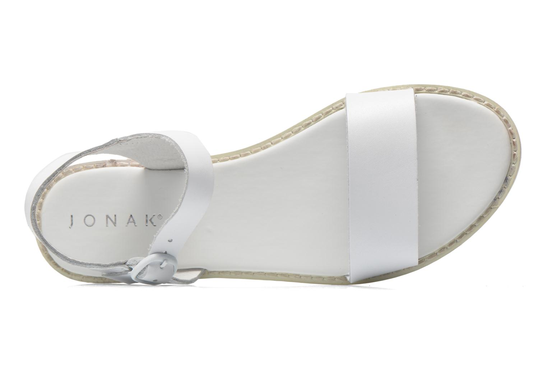Sandales et nu-pieds Jonak Kelsie Blanc vue gauche