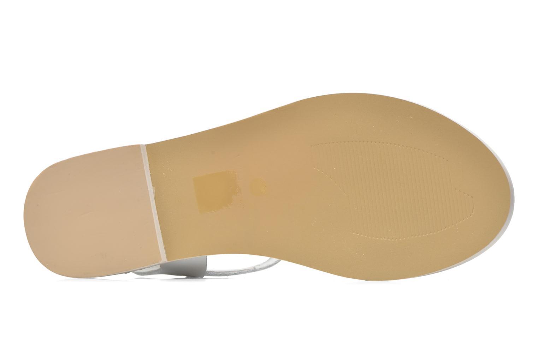 Sandales et nu-pieds Jonak Kelsie Blanc vue haut
