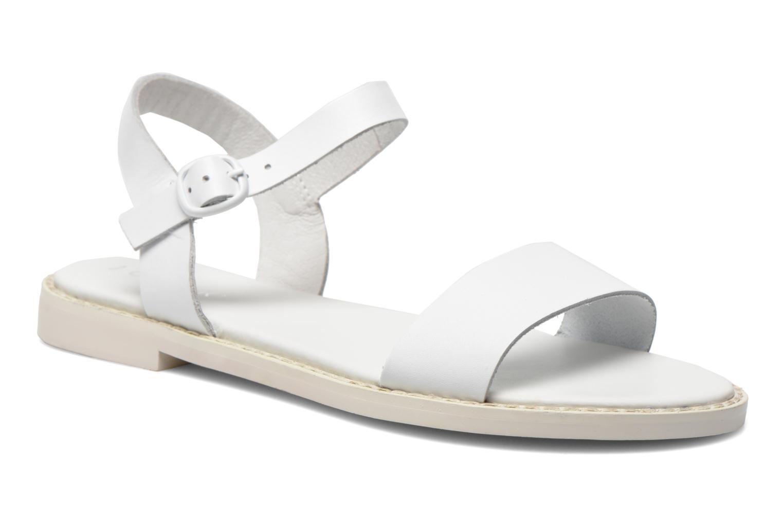 Sandales et nu-pieds Jonak Kelsie Blanc vue détail/paire