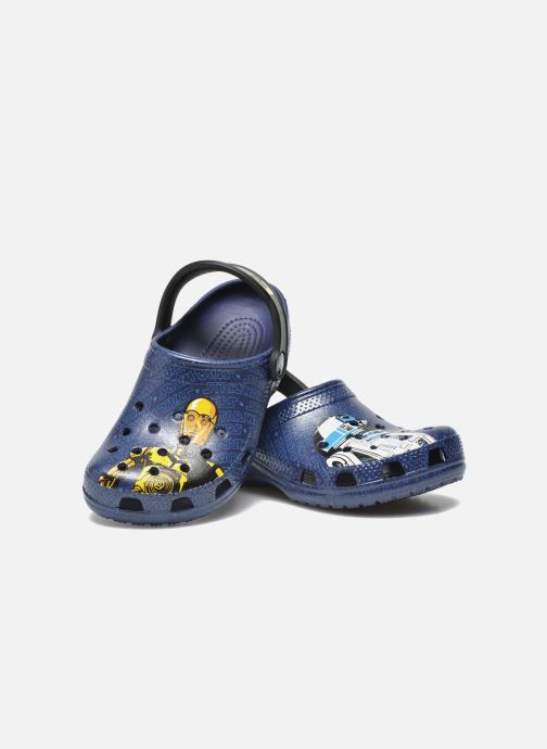 Sandalen Crocs Classic Star Wars R2D2 C3PO Blauw 3/4'