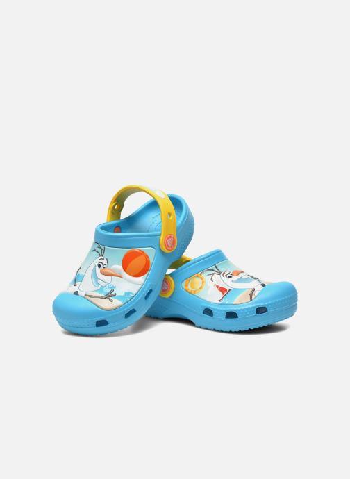 Sandali e scarpe aperte Crocs CC Olaf Clog Azzurro immagine 3/4