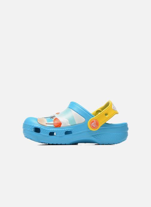 Sandales et nu-pieds Crocs CC Olaf Clog Bleu vue face