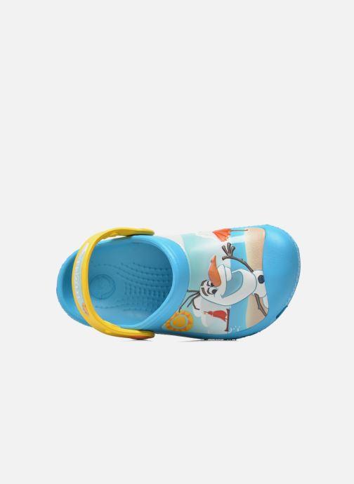 Sandales et nu-pieds Crocs CC Olaf Clog Bleu vue gauche