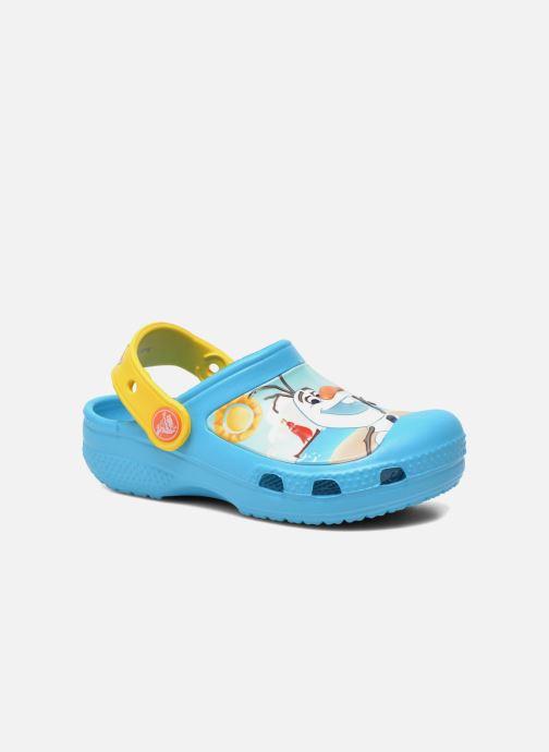 Sandales et nu-pieds Crocs CC Olaf Clog Bleu vue détail/paire