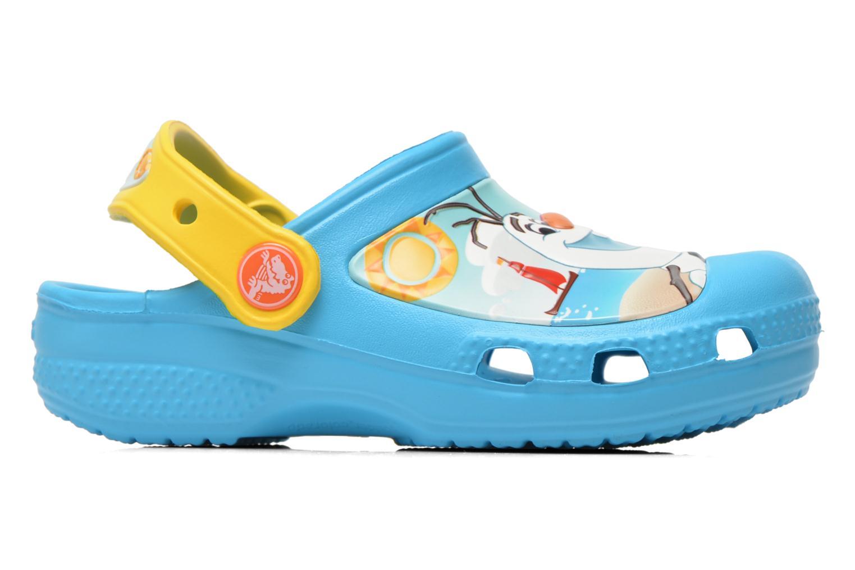 Sandales et nu-pieds Crocs CC Olaf Clog Bleu vue derrière