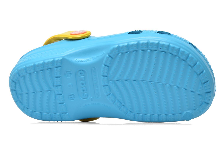 Sandales et nu-pieds Crocs CC Olaf Clog Bleu vue haut
