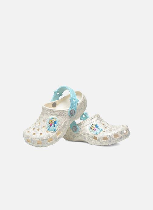 Sandaler Crocs Classic Frozen Clog K Vit 3/4 bild
