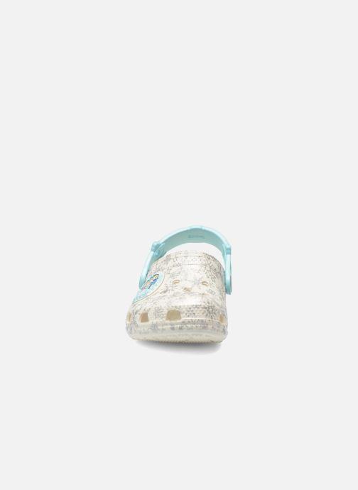 Sandaler Crocs Classic Frozen Clog K Vit bild av skorna på