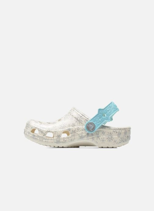 Sandaler Crocs Classic Frozen Clog K Vit bild från framsidan
