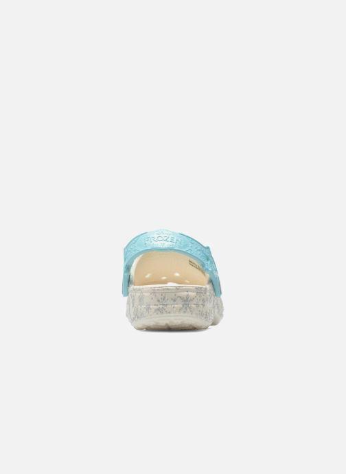 Sandales et nu-pieds Crocs Classic Frozen Clog K Blanc vue droite
