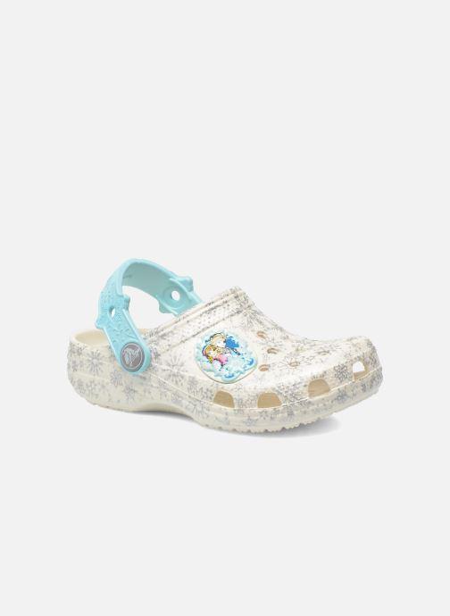 Sandaler Crocs Classic Frozen Clog K Vit detaljerad bild på paret